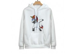 Sweat licorne blanche DAB