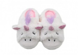 Chaussons licorne endormie