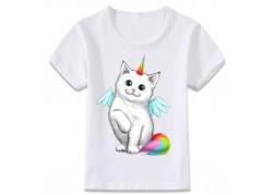 T-shirt Licorne Ailée