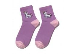 Chaussettes violettes...
