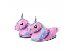 Chaussons licorne Galaxie