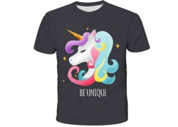 T-shirt licorne Be Unique